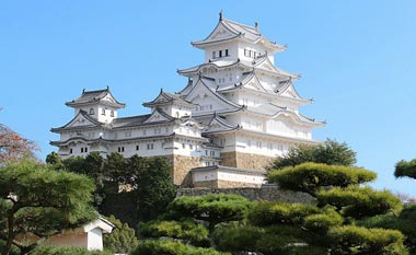 قصر هیمه جی,قصر هیمه جی در ژاپن,قصر درنای سفید