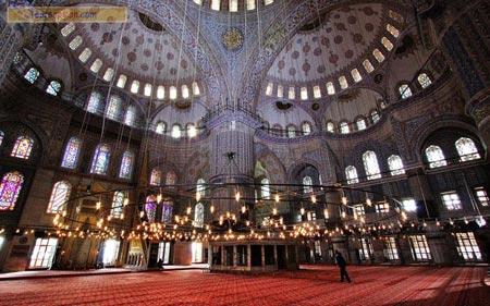 عکس های مسجد سلطان احمد,مسجد کبود,مسجد سلطان احمد در ترکیه