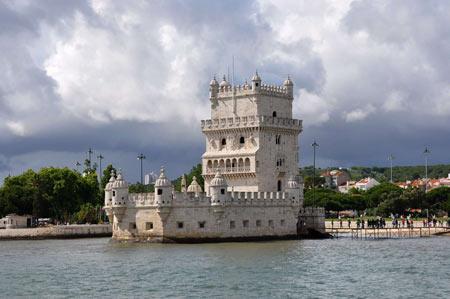 برج بلم,belém tower,برج بلم در پرتغال