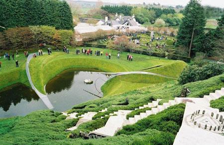باغ های منحصر بفرد,باغ گردشگری کیهانی,زیباترین باغها در جهان