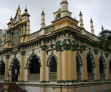مسجد عبدالغفور,مسجد عبدالغفور در سنگاپور,مکانهای دیدنی سنگاپور