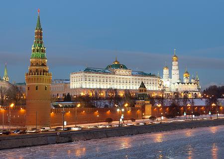 کاخ های بزرگ جهان,تصاویر کاخ کرملین,مکانهای تاریخی جهان