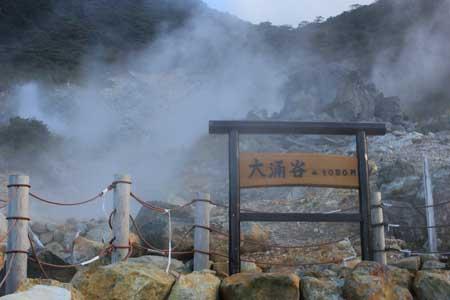 دره Owakudani,دره ی جوشان در ژاپن,تخم مرغ های دره اواکودانی