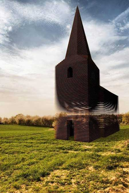 کلیسای ترنسپرنت,کلیسای شفاف,تصاویر کلیسای ترنسپرنت