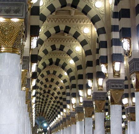 مسجد النبی,تصاویر مسجد النبی در مدینه, آشنایی با مسجد النبی