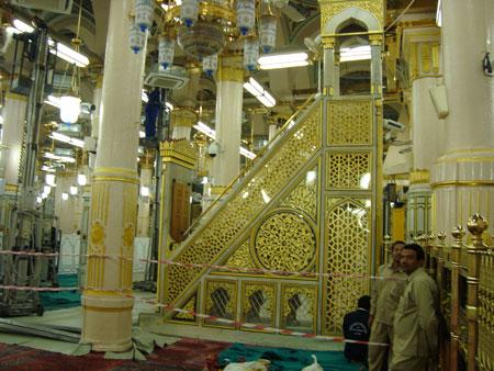 مسجد النبی, تاریخچه مسجد النبی,مسجد پیامبر