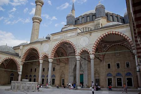مسجد سلیمیه, تاریخچه ساخت مسجد سلیمیه, عکس های مسجد سلیمیه