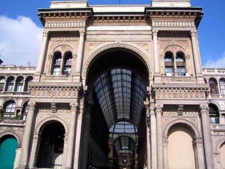طاق صلح, طاق صلح در ایتالیا,طاق صلح در میلان