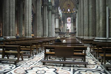 کلیسای دوئومو,تصاویر کلیسای دوئومو, کلیسای جامع میلان