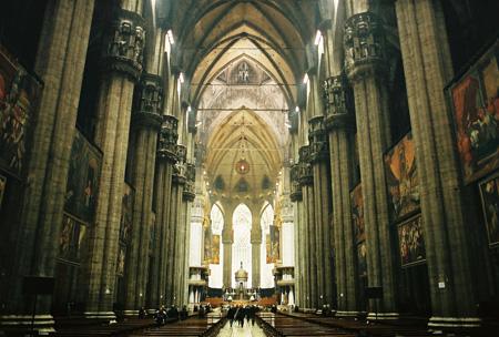 کلیسای دوئومو در میلان,کلیسای دوئومو,کلیسای جامع میلان