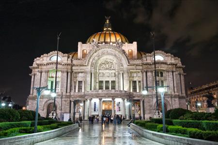 قصر هنرهای زیبا در مکزیک, تصاویر قصر هنرهای زیبا در مکزیک, مکانهای تاریخی مکزیک