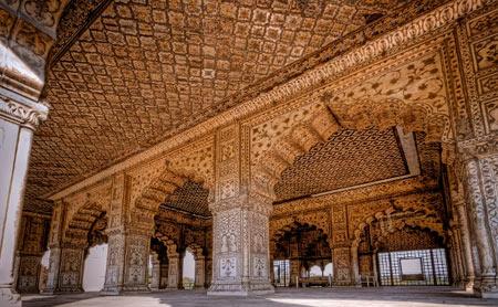 قلعه سرخ,مکانهای دیدنی هند, تصاویر قلعه سرخ در هندوستان