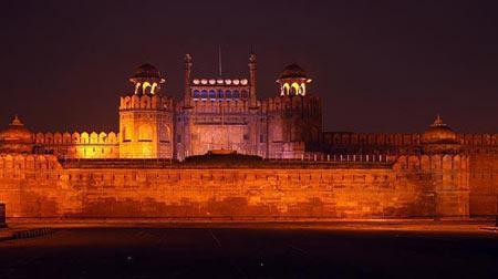 بخش های مختلف لال قلعه در هندوستان, قلعه سرخ, تصاویر قلعه سرخ در هندوستان