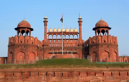 تصاویر قلعه سرخ در هندوستان,قلعه سرخ,عکس های قلعه سرخ در هندوستان