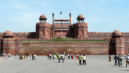 قلعه سرخ, تصاویر لال قلعه, تصاویر قلعه سرخ در هندوستان