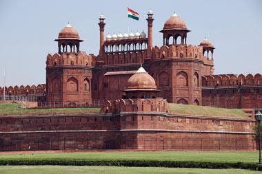 قلعه سرخ, لال قلعه, تصاویر قلعه سرخ در هندوستان