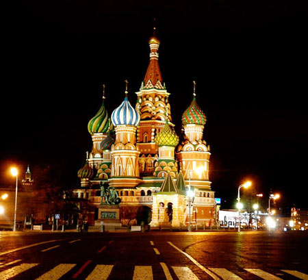 کلیسای سنت باسیل, کلیسای سنت باسیل نماد تاریخی روسیه, عکس کلیسای سنت باسیل