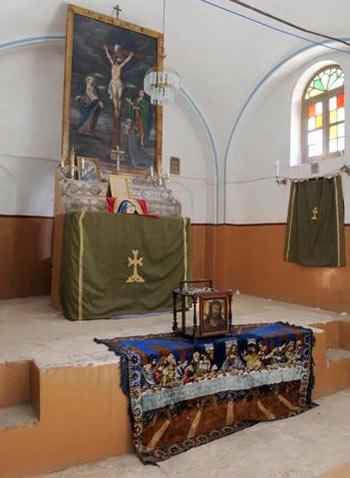 کلیسای هاکوپ در اصفهان,معماری کلیسای هاکوپ,کلیسای مریم مقدس