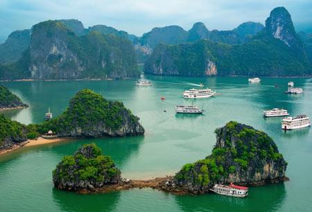 خلیج هالونگ,خلیج هالونگ ویتنام,خلیج هالونگ بای
