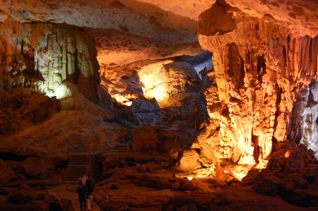 غار تین کونگ, غار تین کونگ در خلیج هالونگ,عکس های غار تین کونگ