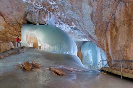 غار آیس ریزن وِلت,غار آیس ریزن وِلت اتریش, تصاویر غار آیس ریزن وِلت