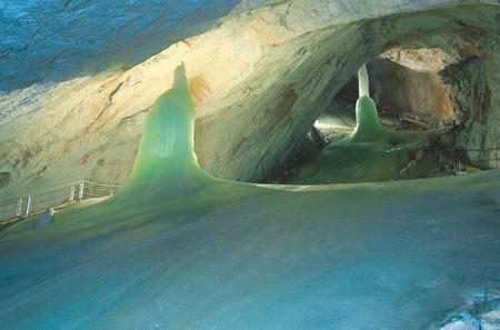 غار آیس ریزن وِلت اتریش, غار آیس ریزن وِلت, تصاویر غار آیس ریزن وِلت