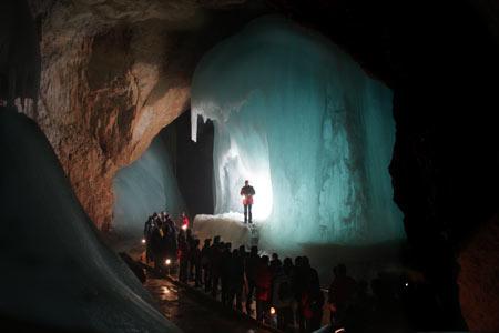 غار Eisriesenwelt, غار آیس ریزن وِلت, تصاویر غار آیس ریزن وِلت