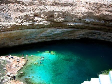 شنا کردن, عجیب ترین مکانها برای شنا کردن,باهماه Bahmah