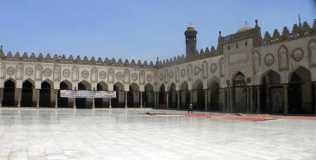 مسجد الازهر,تصاویر مسجد الازهر در مصر, مسجد الازهر در قاهره