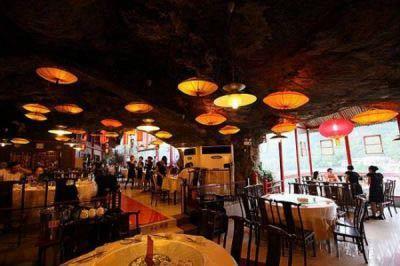 خطرناکترین رستوران جهان در چین,عجایب گردشگری