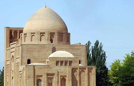 آثار تاریخی مشهد,تصاویر آثار تاریخی مشهد,گنبد هارونیه