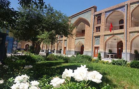 آثار تاریخی مشهد,تصاویر آثار تاریخی مشهد,مدرسه عباسقلی خان