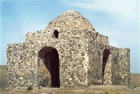 آثار تاریخی مشهد,تصاویر آثار تاریخی مشهد,چهار طاقی بازه هور