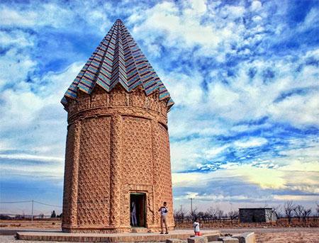 آثار تاریخی مشهد,تصاویر آثار تاریخی مشهد,میل اخنگان