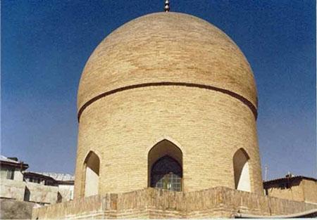 آثار تاریخی مشهد,تصاویر آثار تاریخی مشهد,گنبد خشتی مشهد