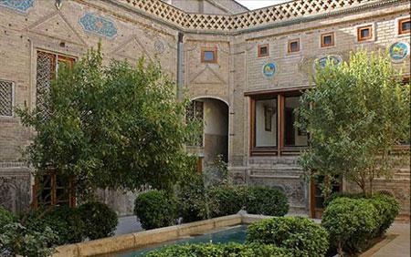 آثار تاریخی مشهد,تصاویر آثار تاریخی مشهد,خانه ملک مشهد