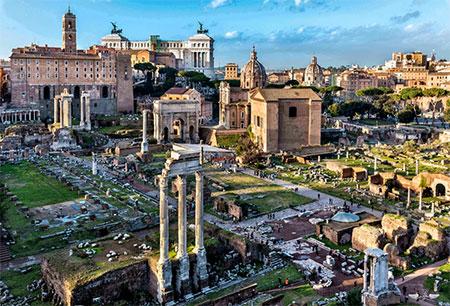رومن فروم رم ایتالیا