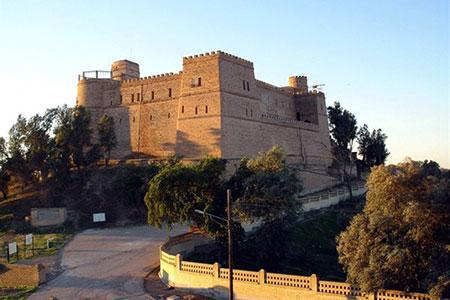 قلعه شوش,قلعه شوش کجاست,تصاویر قلعه شوش