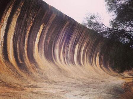 صخره مواج هایدن,جاذبه های گردشگری استرالیا,صخره هایدن