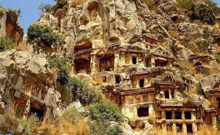 آنتالیا - مناطق گردشگری در آنتالیا