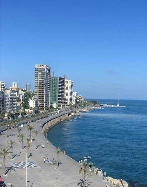لبنان,مکانهای تفریحی لبنان,دیدنیهای لبنان