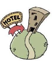 هتلداری به سبک ایرانی