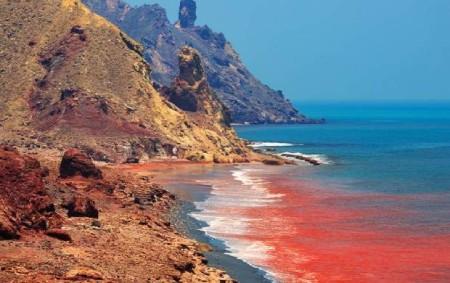 جزیره زیبای هرمز,جزیره هرمز,گردشگری