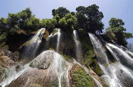 آبشار بیشه,آبشار بیشه دورود,آبشارهای ایران