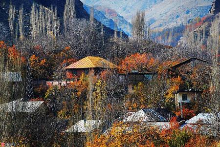 سفر پاییزی به روستای آهار