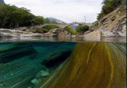 زلالترین رودخانه جهان,رود ویرزاسکا