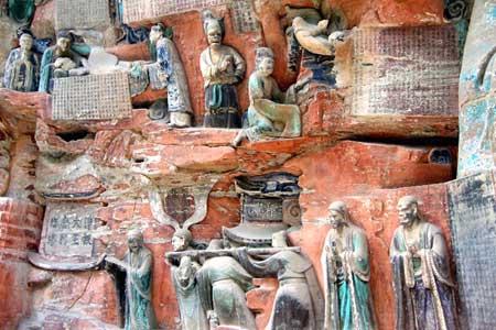 سنگنگارههای دازو در چین