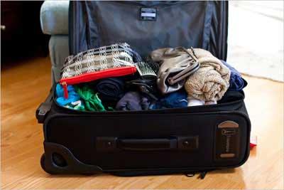 بستن چمدان,چمدان بستن