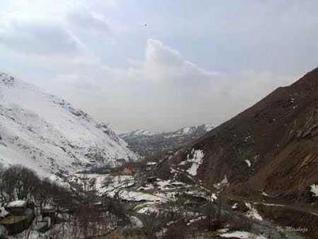 روستای افجه,دیدنیهای تهران