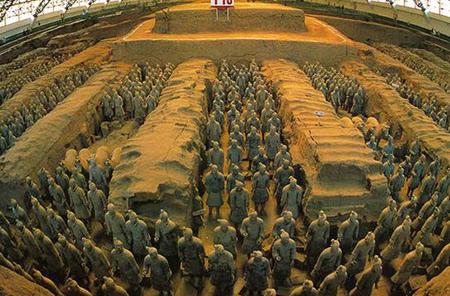 ارتش سفالین امپراتور چینی